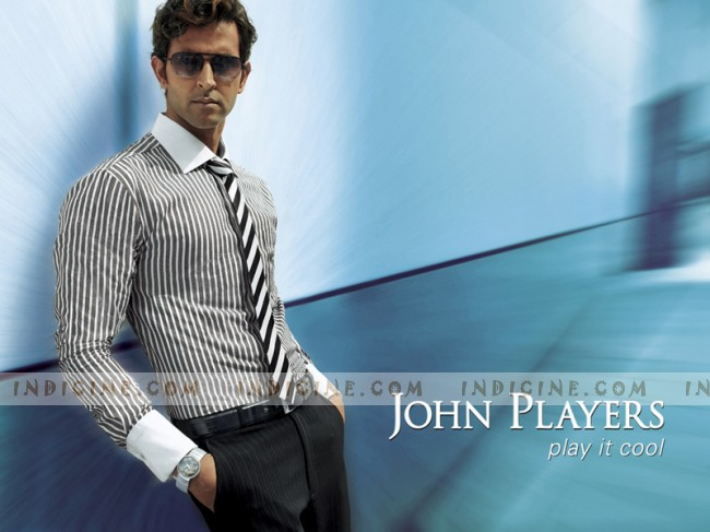 hrithik roshan for john players