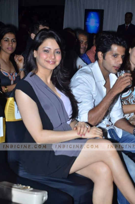Amna Sharif and Karanvir Bohra at Rob Schneider Black Dog Comedy evenings