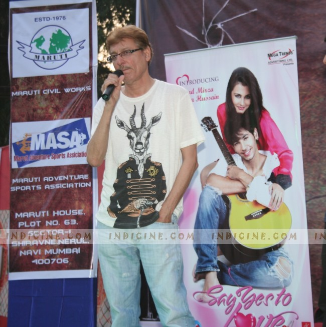 Marukh Mirza Beig promote Say Yes To Love at Dr. D. Y. Patil Collegemarukh 