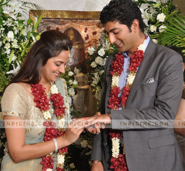 Ahana Deol engagement with Vaibhav Vora