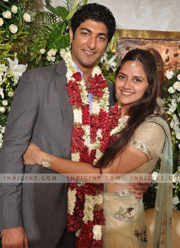 Ahana Deol with husband Vaibhav Vora