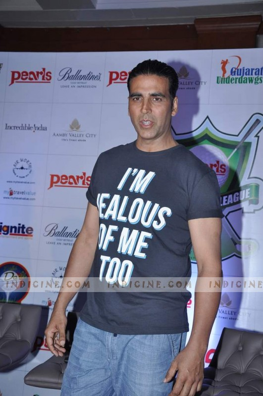 Akshay Kumar at Golf Premier League