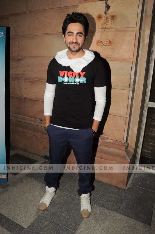 Ayushman Khurana at Couture for Cause