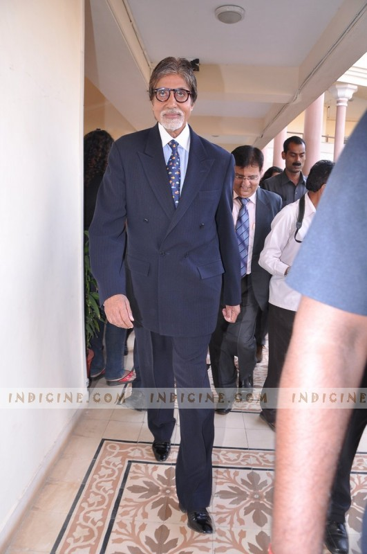 Amitabh Bachchan at Mumbai University