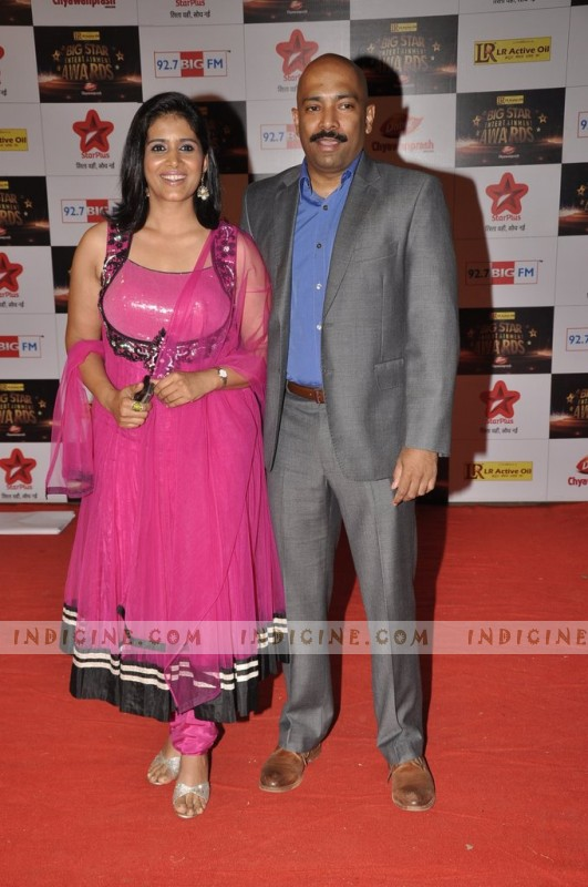 Sonali Kulkarni with husband Nachiket Pantvaidya