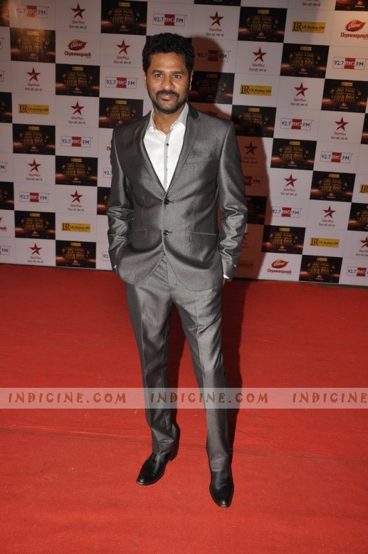 Prabhu Deva at Big Star Awards red carpet