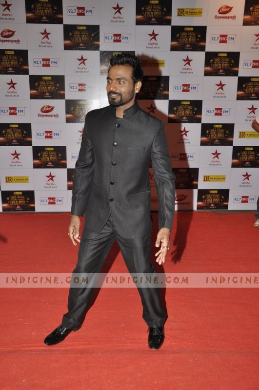 Remo D'Souza at Big Star Awards red carpet