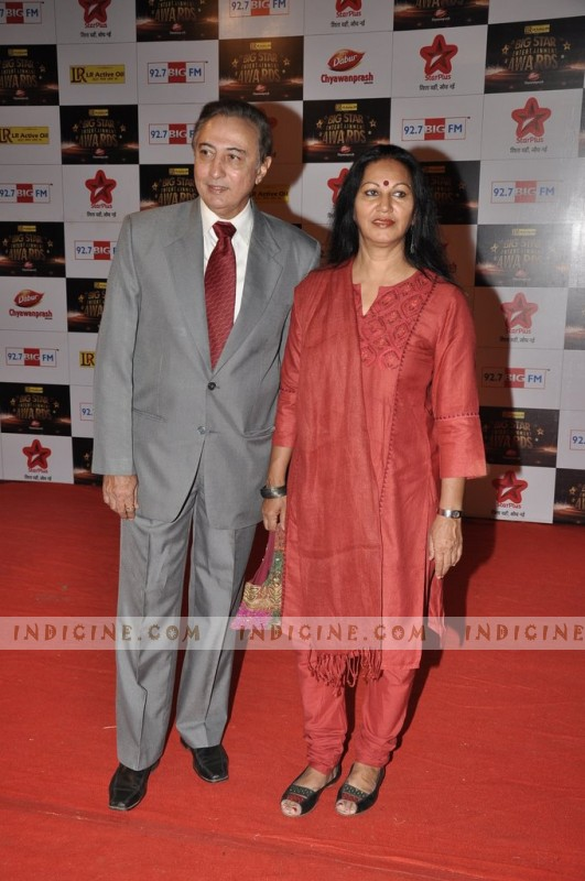 Anang Desai with wife