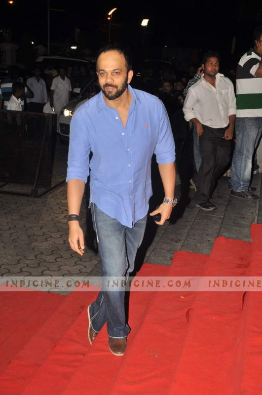Rohit Shetty at Bol Bachchan special screening