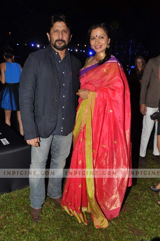 Arshad Warsi with wife Maria Goretti