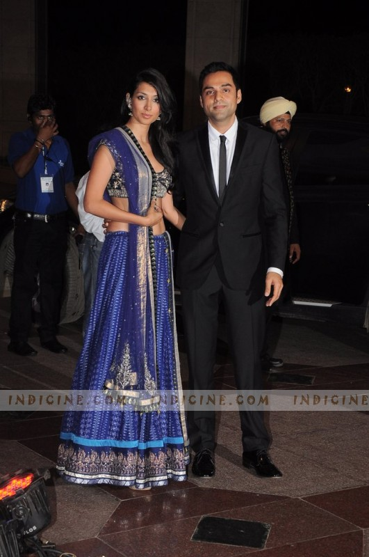 Preeti Desai, Abhay Deol at Esha Deol's sangeet ceremony