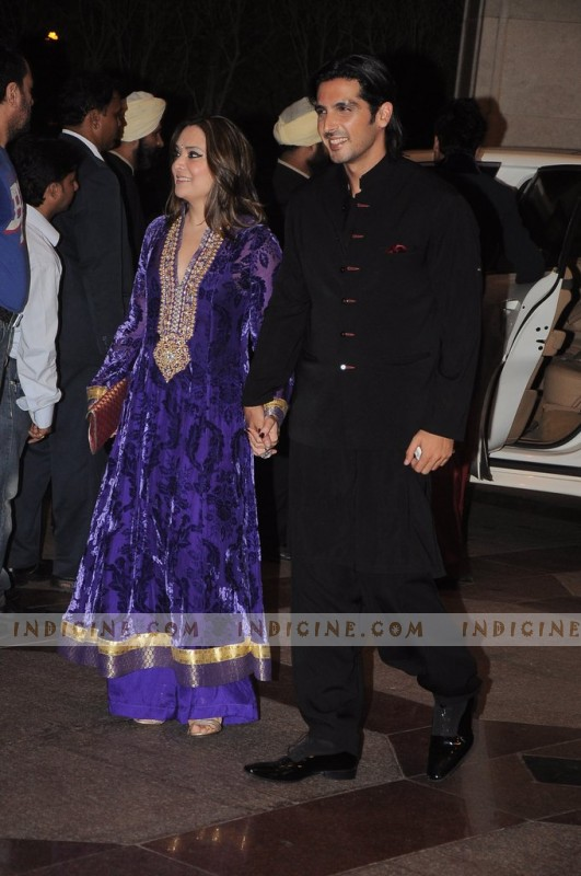 Malaika Khan, Zayed Khan at at Esha Deol's sangeet ceremony
