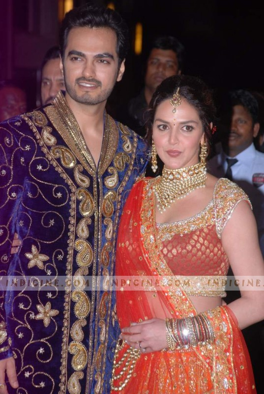 Bharat Takhtani, Esha Deol's Sangeet ceremony