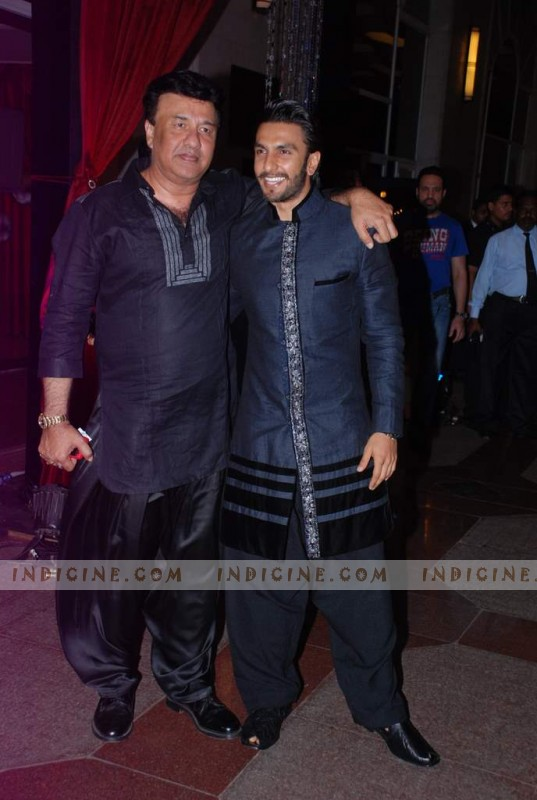 Anu Malik, Ranveer Singh at Esha Deol's sangeet ceremony