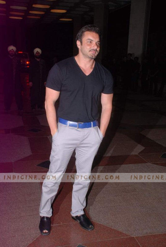 Sohail Khan at Esha Deol's sangeet ceremony