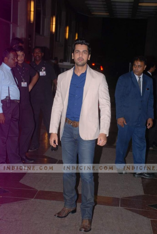 Arjan Bajwa at Esha Deol's sangeet ceremony