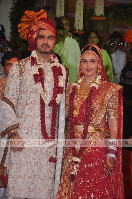 Esha Deol and Bharat Takhtani's Wedding Ceremony