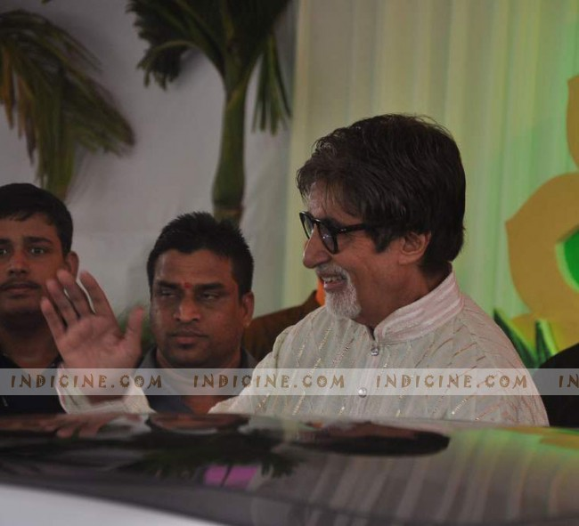 Amitabh Bachchan at Esha Deol and Bharat Takhtani's Wedding