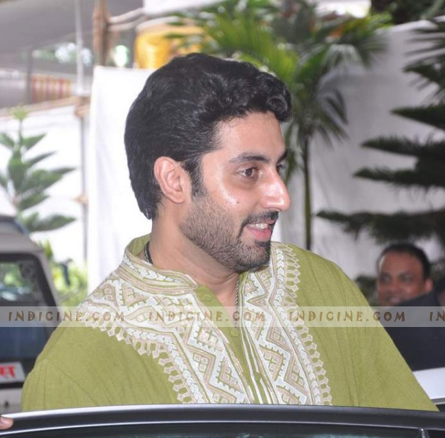 Abhishek Bachchan at Esha Deol and Bharat Takhtani's Wedding