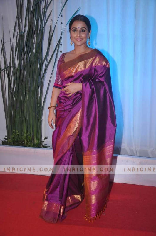 Vidya Balan at Esha Deol's wedding reception