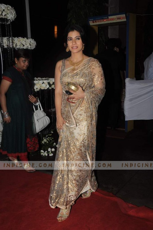 Kajol - Esha Deol's wedding reception