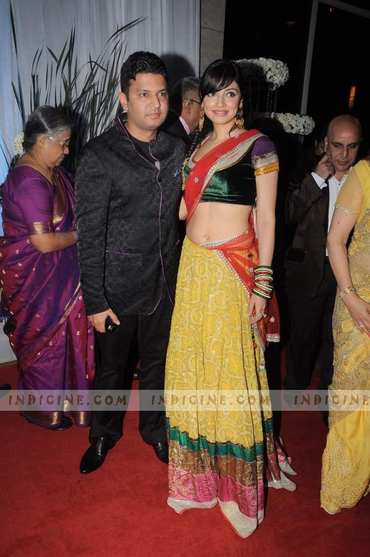 Divya Khosla with husband Bhushan Kumar