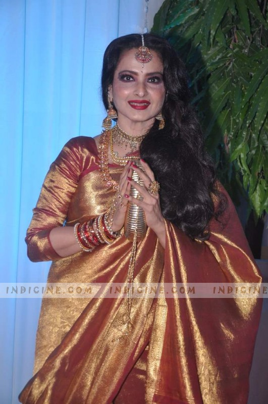 Rekha - Esha Deol's wedding reception