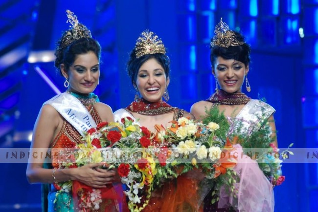 Miss India Earth Shriya Kishore - Miss India World Pooja Chopra - Miss India Universe Ekta Chaudhary