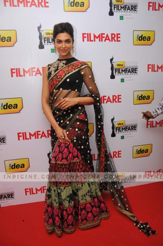 Deepika Padukone at Filmfare Awards South 2012