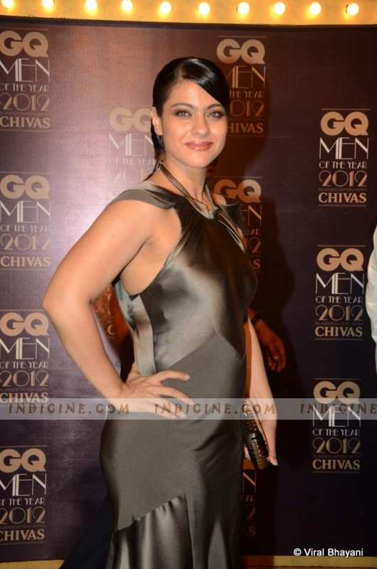 Kajol at GQ Men of the Year Awards 2012