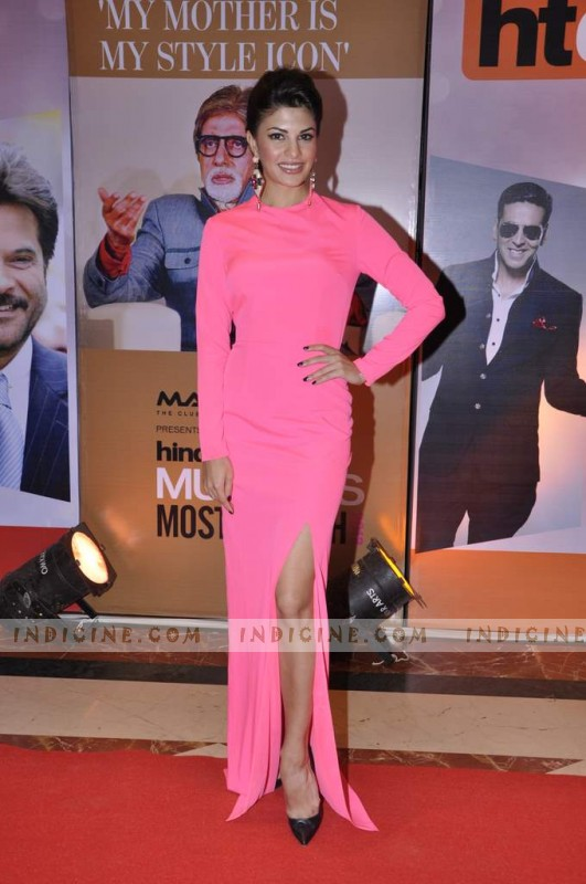 Jacqueline Fernandes at Hindustan Times Mumbai's Most Stylish awards
