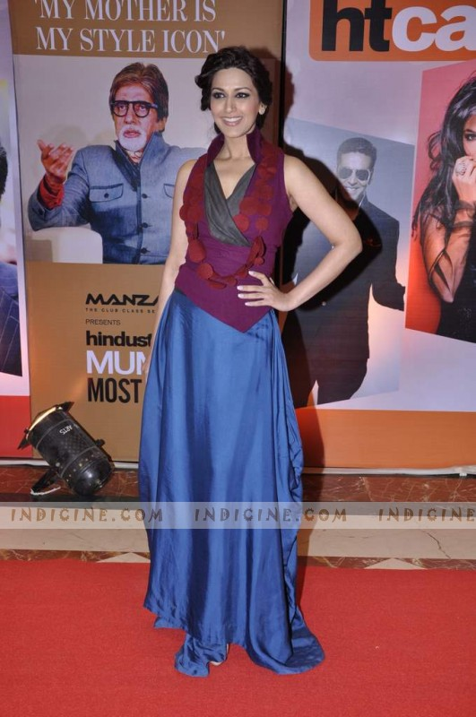 Sonali Bendre at Hindustan Times Mumbai's Most Stylish awards