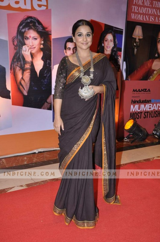 Vidya Balan at Hindustan Times Mumbai's Most Stylish awards