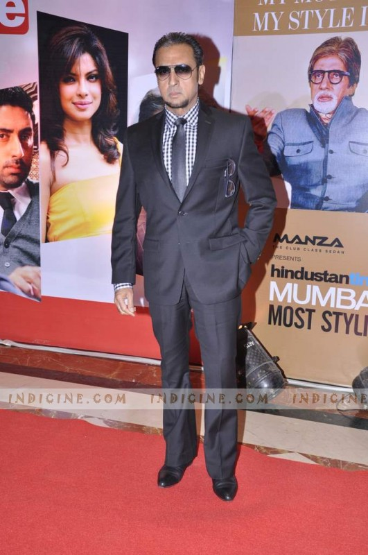 Gulshan Grover at Hindustan Times Mumbai's Most Stylish awards