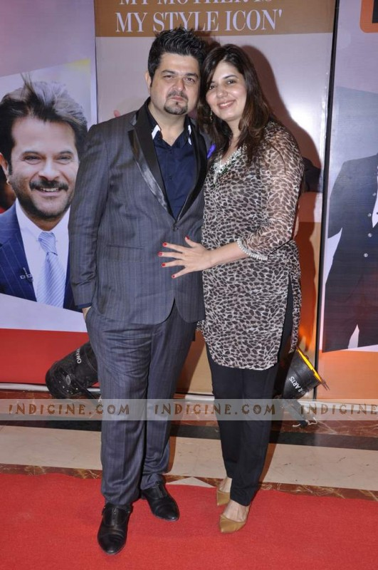 Dabboo Ratnani with wife Manisha