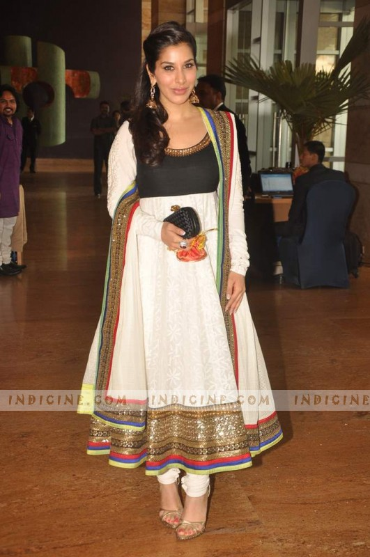 Sophie Chaudhary at Honey Bhagnani and Dheeraj Deshmukh wedding ceremony