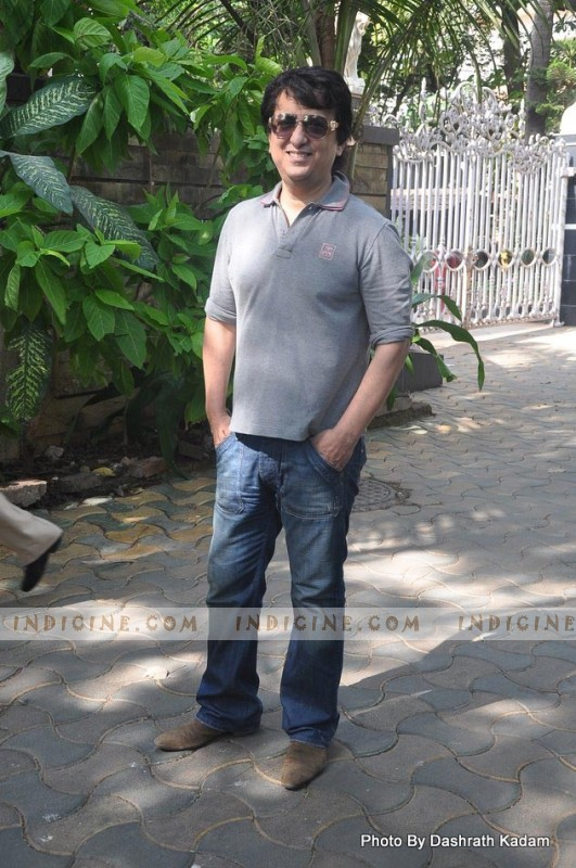 Sajid Nadiadwala at Housefull 2 Success Bash at Akshay Kumar's House