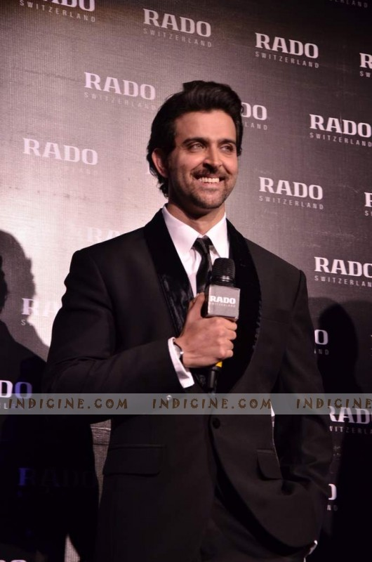 Hrithik Roshan announced as Rado's ambassador