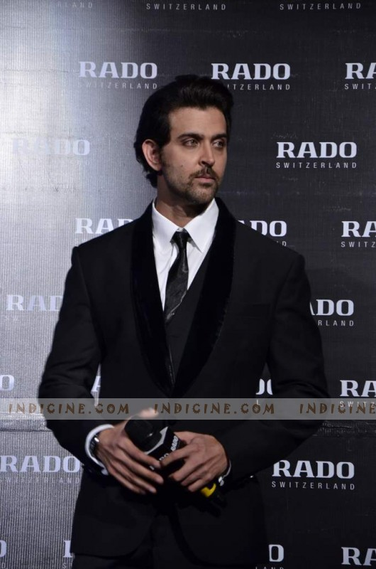 Hrithik announced as Rado's ambassador