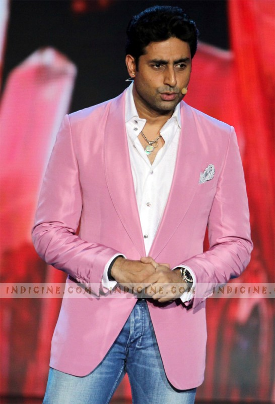 Abhishek Bachchan at IIFA Rocks 2013