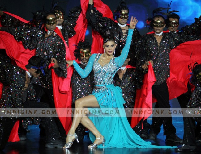 Jacqueline Fernandes at IIFA rocks 2013