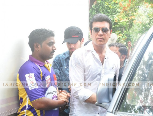 Aditya Pancholi with son Suraj