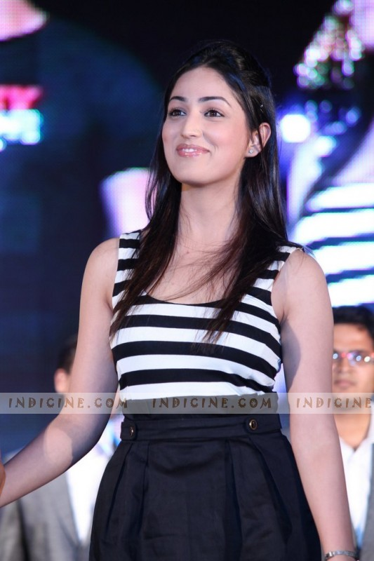 Yami Gautam at Vicky Donor promotions