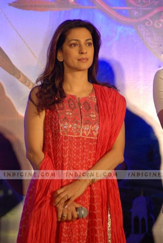 Juhi Chawla at Ramayana Animation Film - 05