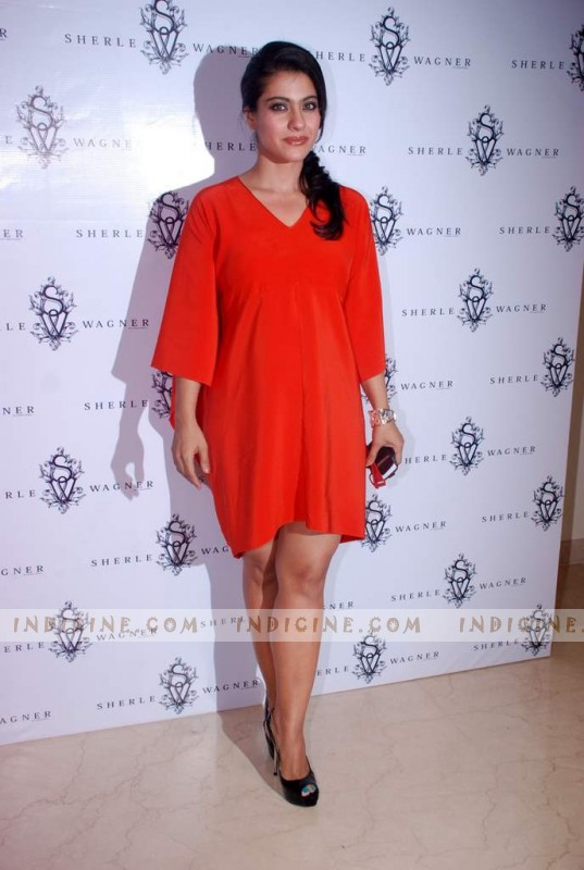 Kajol at Sherle Wagner launch