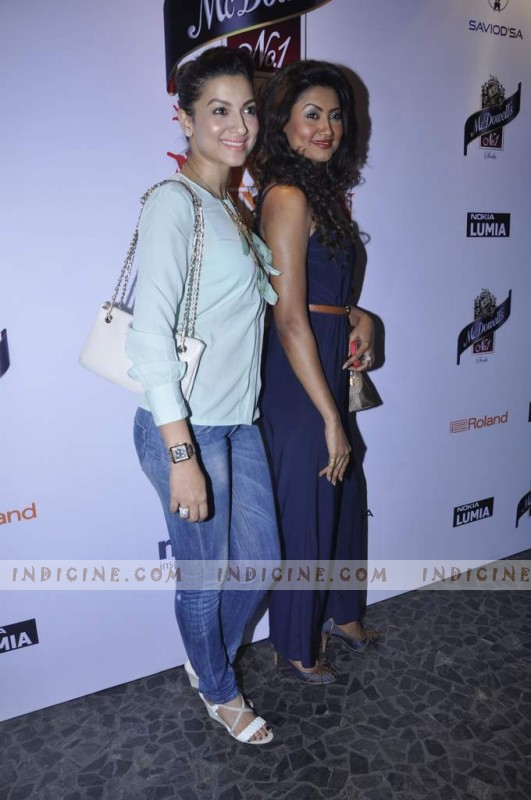 Gauhar Khan with sister Nigar Khan