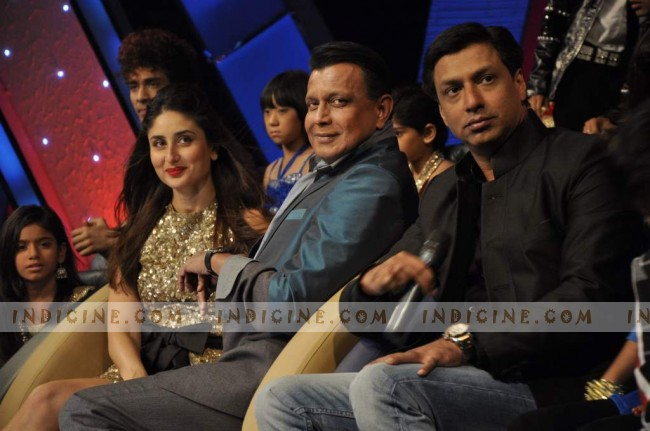 Kareena, Mithun Chakraborty and Madhur Bhandarkar