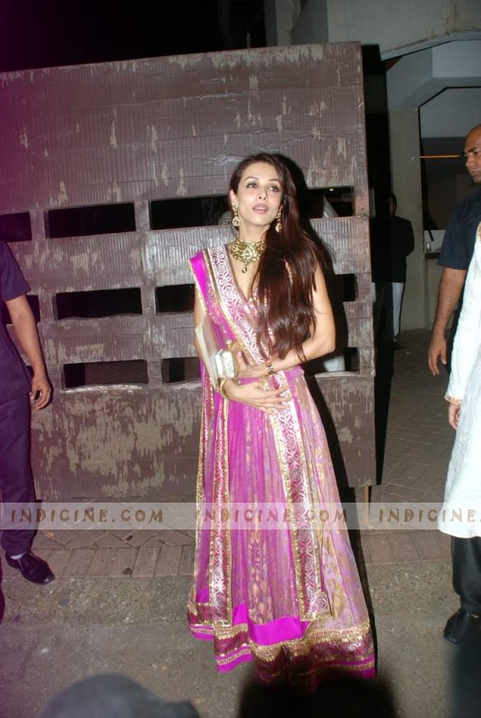 Malaika Arora Khan at Kareena Kapoor's sangeet ceremony