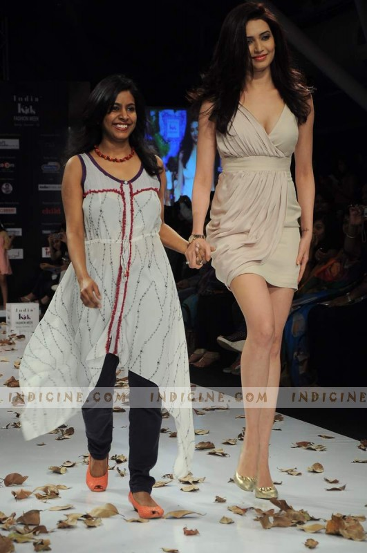 Karishma Tanna walks for Ashima Singh's India Kids Fashion Show
