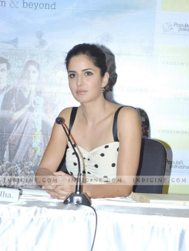 Katrina Kaif at Book launch of 'Raajneeti - The Film & Beyond'